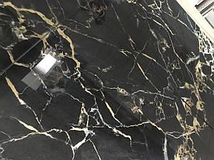 Плитка керамограніт BLACK PORTORO 600х1200