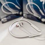 Беспроводные блютуз наушники NECKBAND X4 с креплением на шее для спорта Bluetooth 5 с микрофоном на телефон, фото 2
