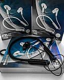 Беспроводные блютуз наушники NECKBAND X4 с креплением на шее для спорта Bluetooth 5 с микрофоном на телефон, фото 5