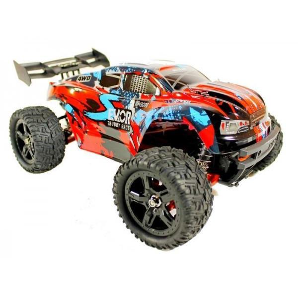 Радиоуправляемый тюнингованный трагги Remo Hobby S-EVOR 4WD RTR 1:16 2.4G RH1665 60 км/час