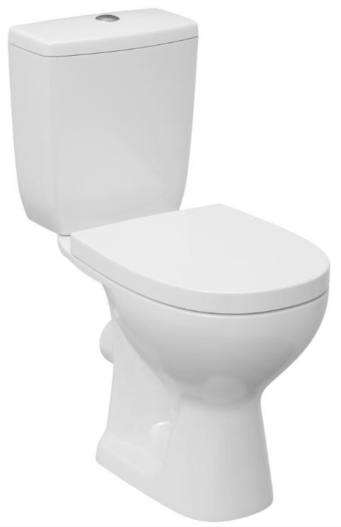 Унитазы Cersanit Унитаз напольный Cersanit Arteco Clean On с бачком и крышкой Soft-Close 063203