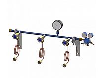 Газовая рампа (кислород и пр.) для любого количества баллонов, фото 1