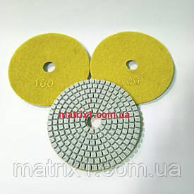 Круг полировальный черепашка - 100 мм №100