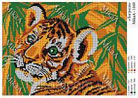 Схема для вишивки бісером Тигрюля