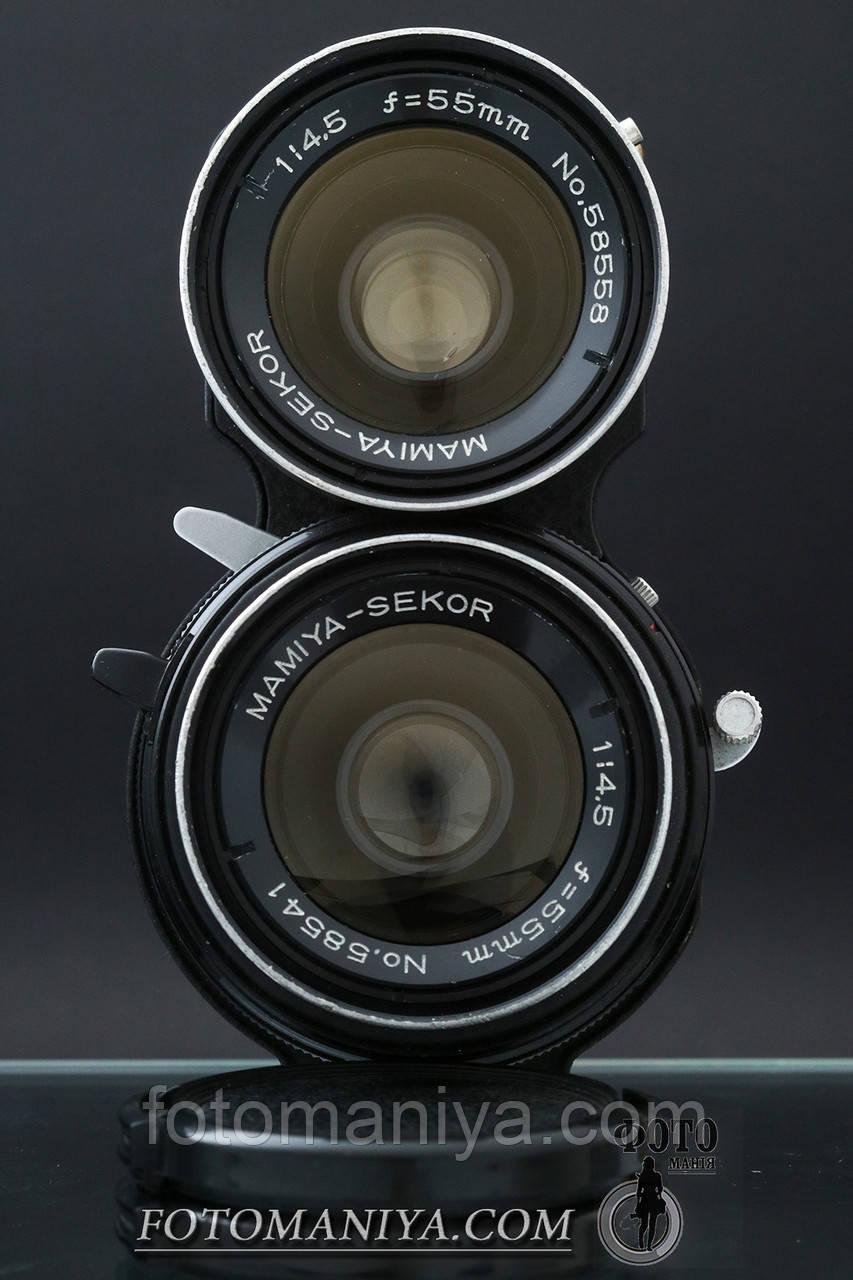 Mamiya-Sekor 55mm f4.5 для TLR камер Mamiya