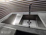 Кухонная мойка стальная Germece HANDMADE H-1000500 R металл 3/1.2 мм 100х50 см, фото 2