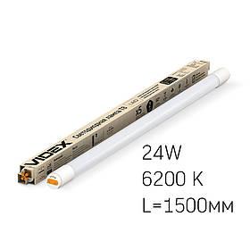 292847 Лампа VIDEX T8b 24W 1,5 М 6200К 220V матова