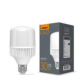 292861 LED лампа VIDEX А80 30W E27 5000K 220V