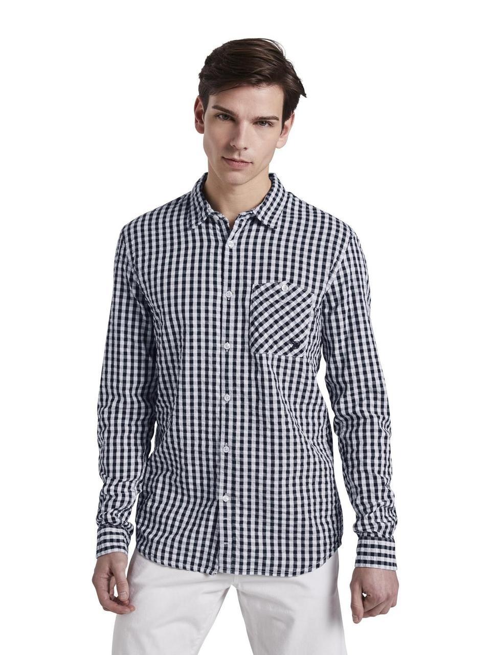 Рубашка Tom Tailor 1002690 S Серый