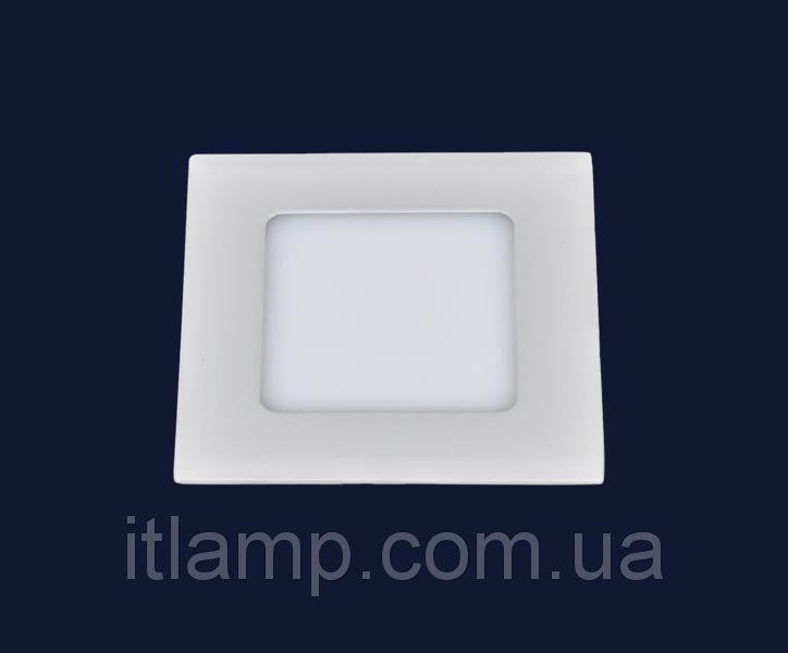 Точечные светильники врезные светодиодный Levistella 728BBWY-MBD-4W (квадрат)  теплый, холодный, нейтральны