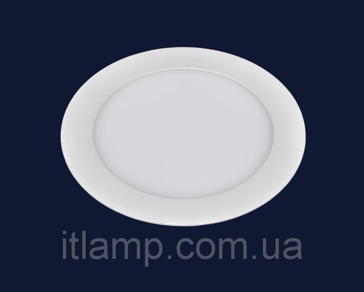 Точечные светильники врезные светодиодный Levistella 728BBWY-MBD-12W (круг) теплый, нейтральный