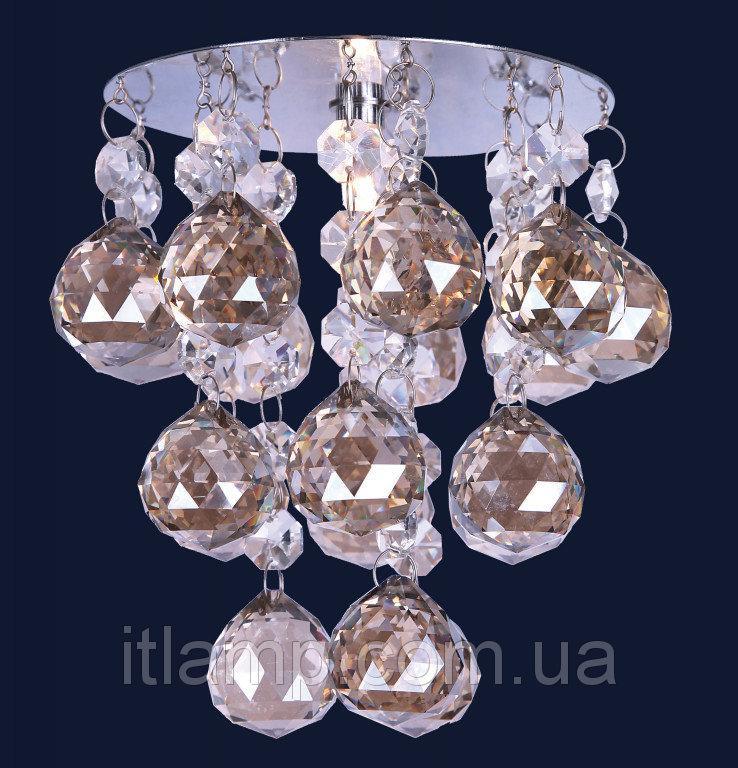 Точечные светильники врезные с хрусталем Levistella 712A2094 CH/CHAMP