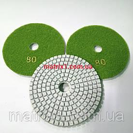 Круг полировальный черепашка - 100 мм №80