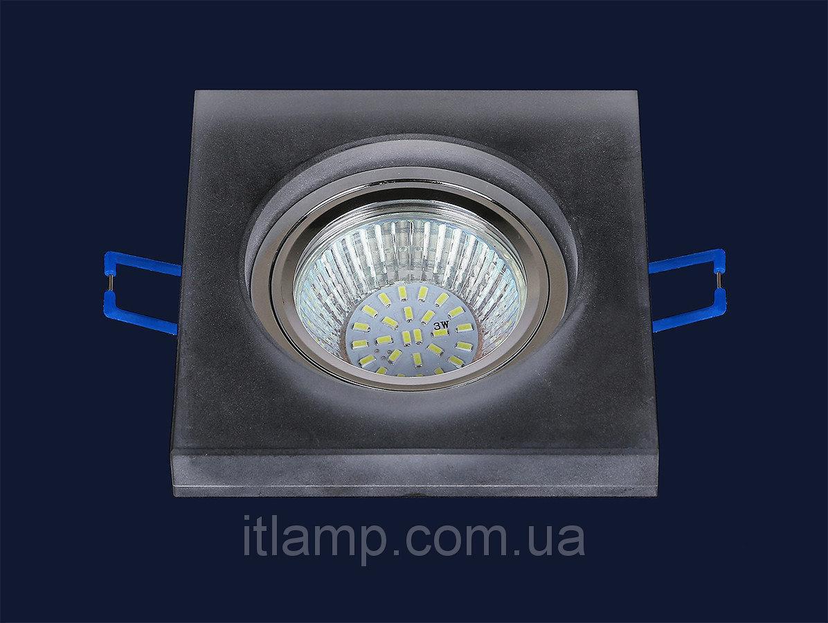 Точечные светильники врезные квадрат Levistella 716MKD048