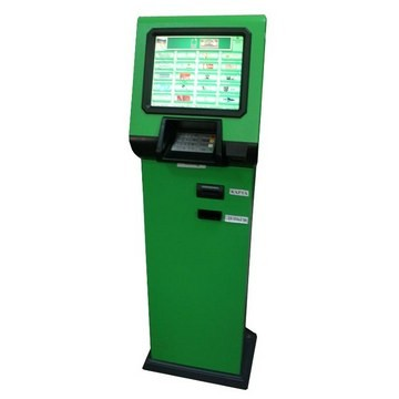 Пополнение карточного счёта с помощью терминала ПриватБанк