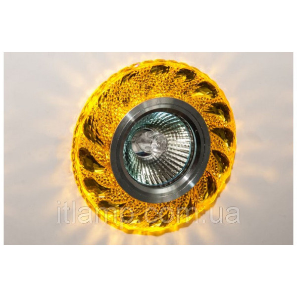 Точечные светильники врезные Linisoln 7029 Yellow Led