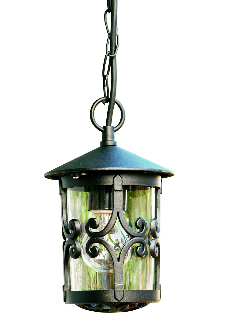 Уличный столбик садовый фонарь подвесной LusterLicht 1765 Cordoba III