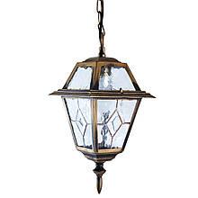 Уличный столбик садовый фонарь подвесной LusterLicht 1365-A Faro I