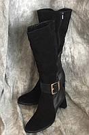 Женские кожаные сапоги Максима 7375 размер 43, фото 1