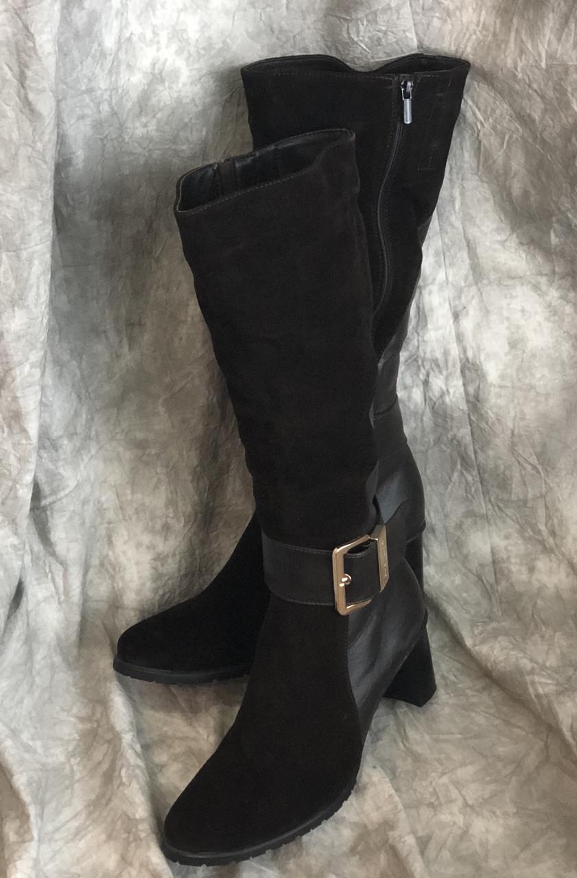 Женские кожаные сапоги Максима 7375 размер 43