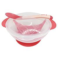 Тарелка с присоской (красная), фото 1