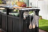 Стол для гриля, барбекю Keter Unity Chef 415 L, фото 2