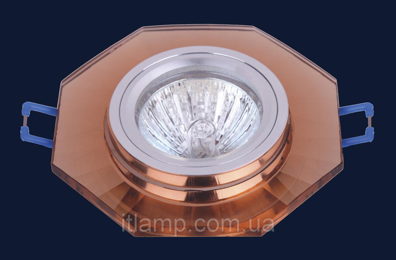 Точечные светильники врезные со стеклом Levistella 705029