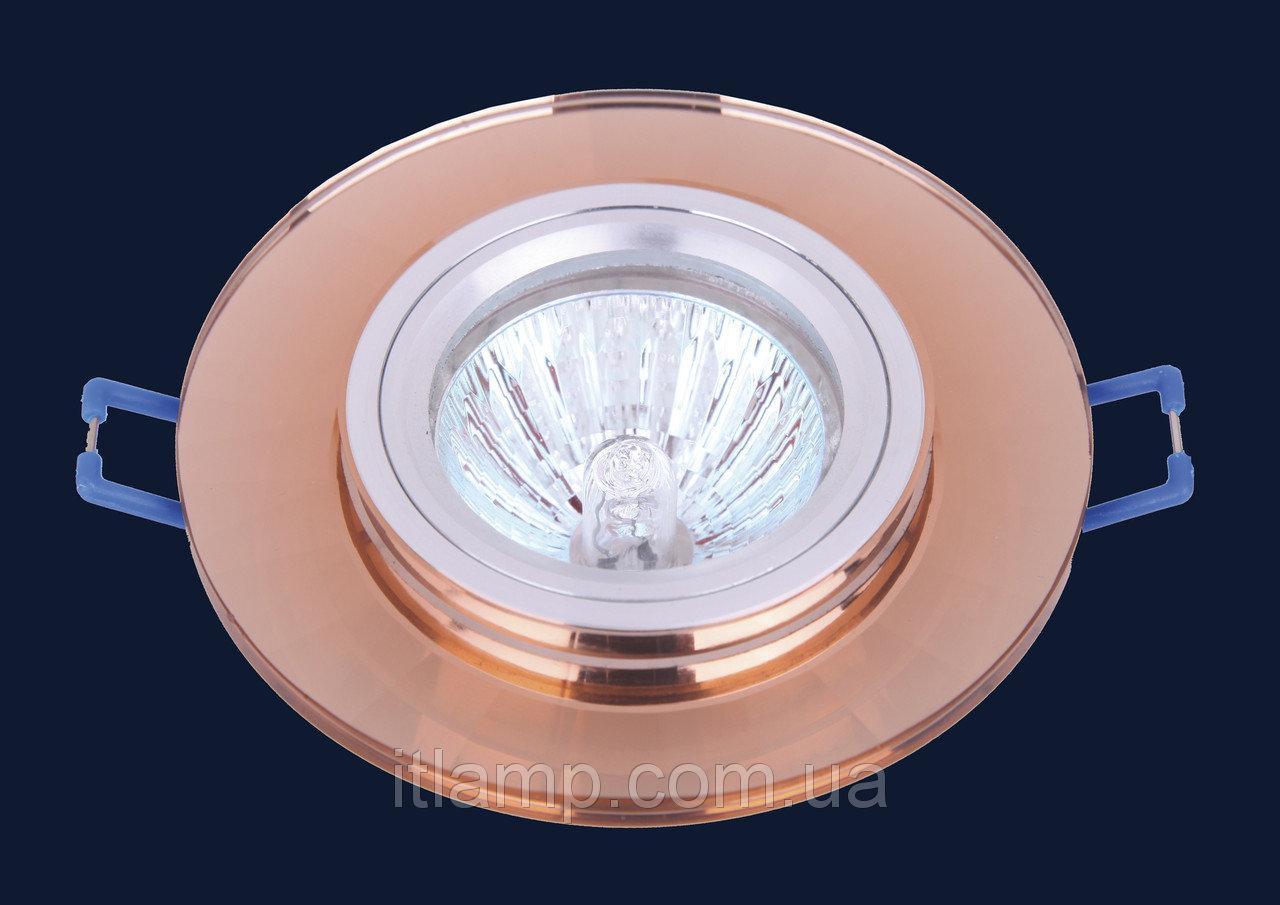 Точечные светильники врезные со стеклом Levistella 705039