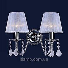 Бра с абажуром Levistella 720W4002WH-2WH SILVER