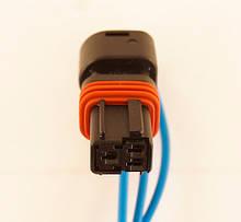 Разъем автомобильный 3-pin/контактный. Мама. 12×11 mm. НОВЫЙ