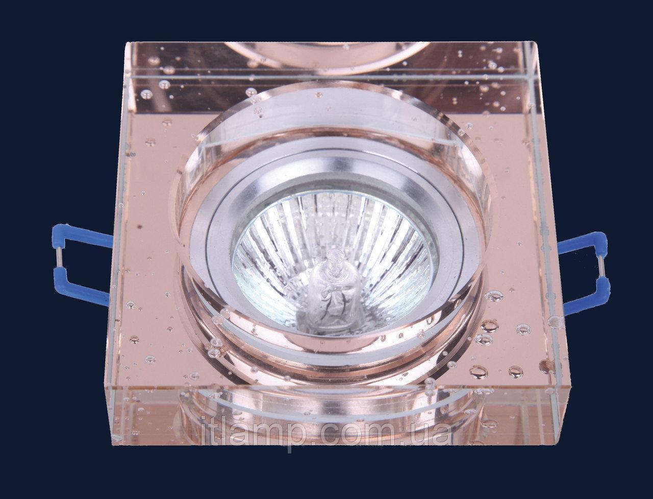 Точечные светильники врезные со стеклом Levistella 705179