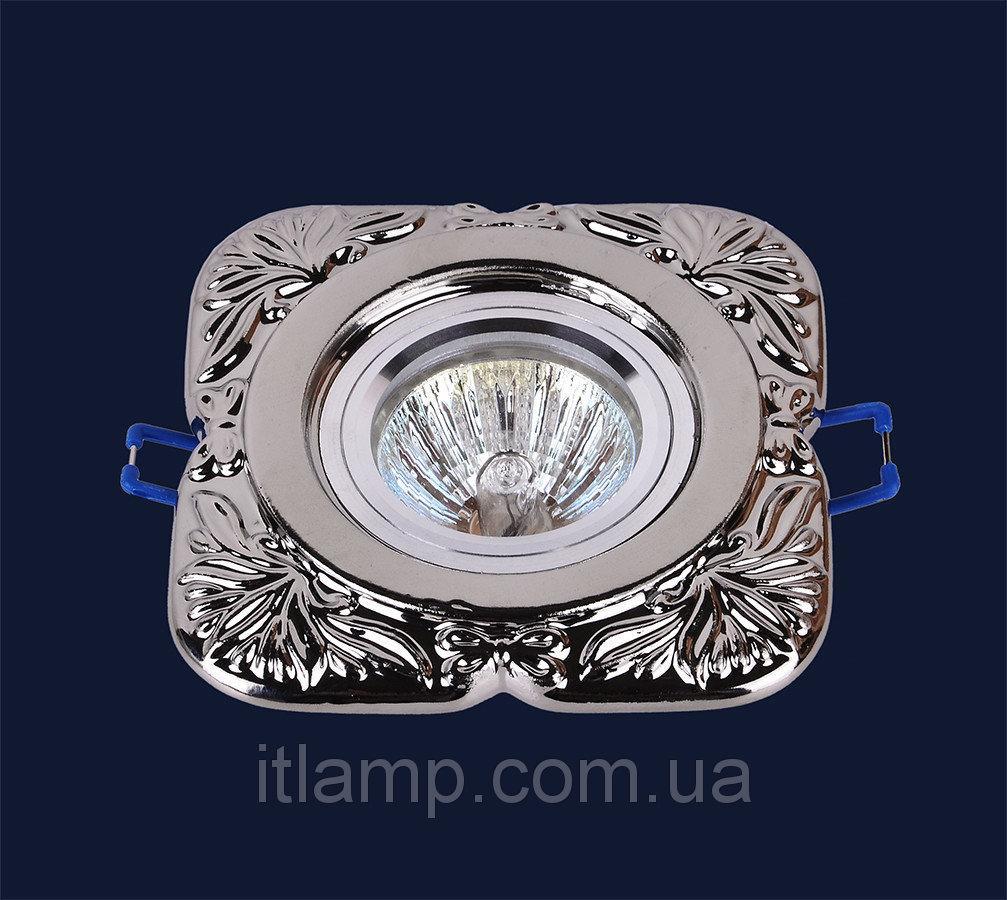 Точечные светильники врезные серебро Levistella 705N120