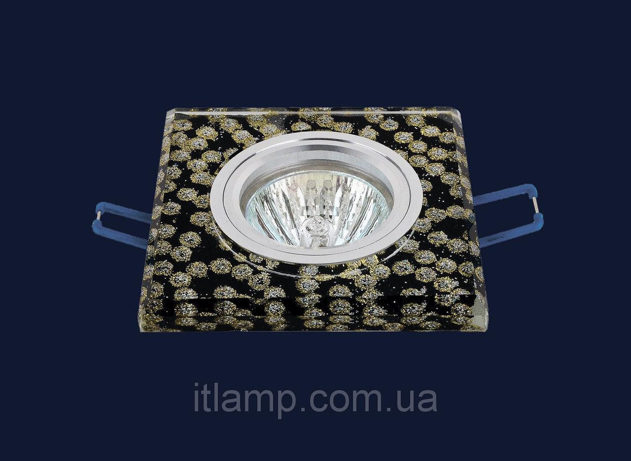 Точечные светильники врезные со стеклом Levistella 705768