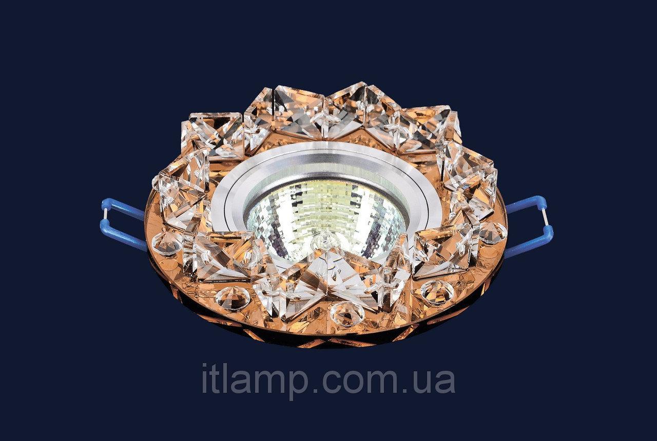 Точечные светильники врезные со стеклом Levistella 716109