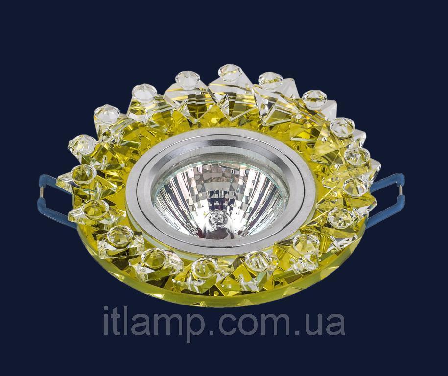 Точечные светильники врезные со стеклом Levistella 716133