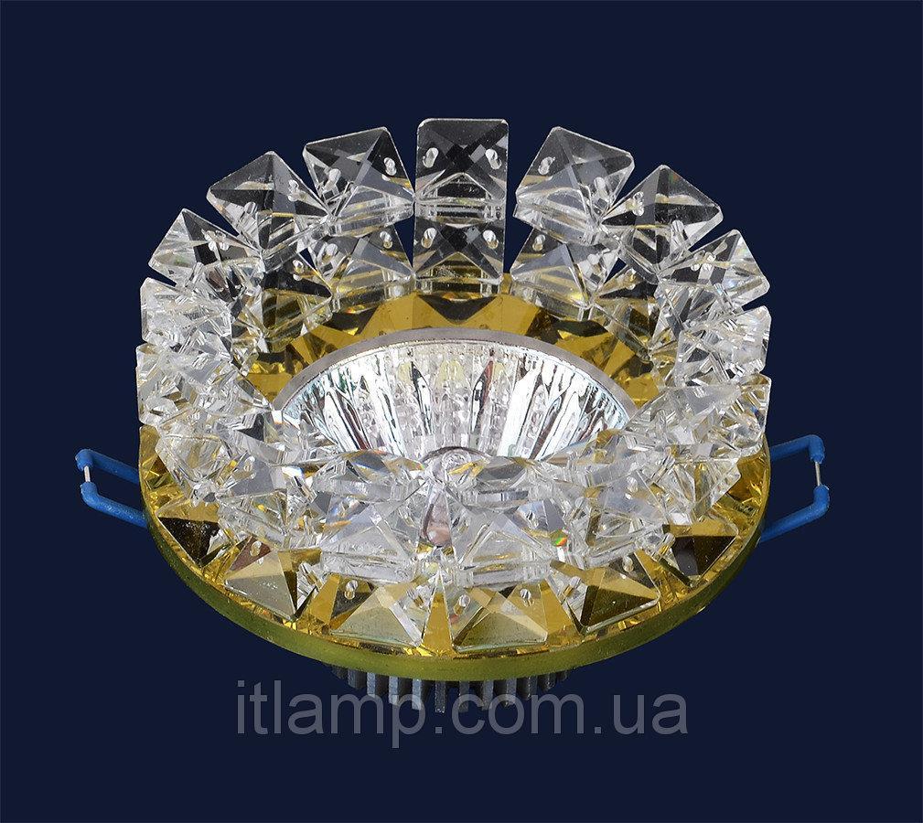 Точечные светильники врезные со стеклом Levistella 716153