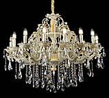 Люстра светильник в классическом стиле с хрустальными подвесками Splendid-Ray 30-3322-18, фото 2