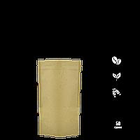 Упаковка для кофе и чая Doypack 50г 10шт. крафт+РЕ 100х170х30 zip-замок, фото 1