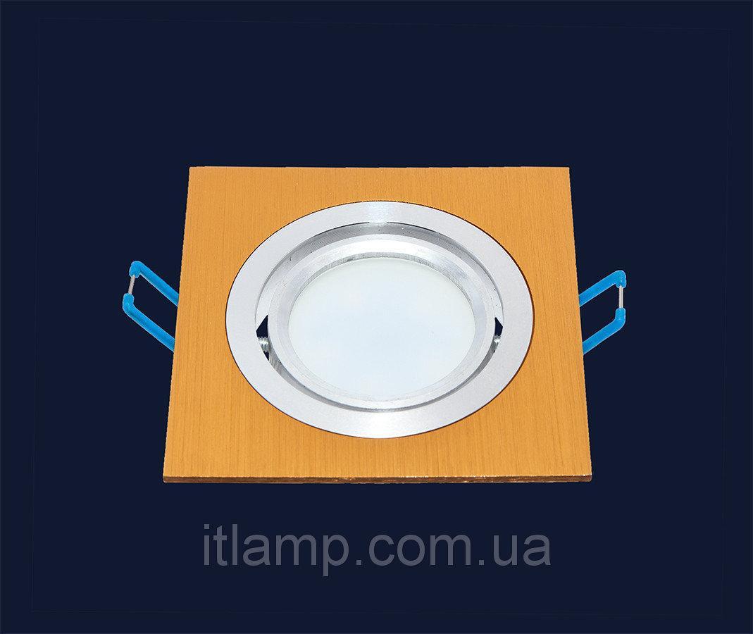 Точечные светильники врезные на 1 лампочку Levistella 7471235 GD
