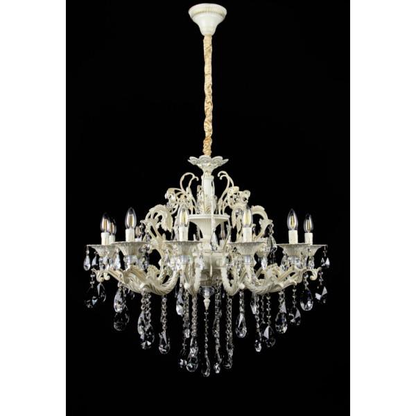 Люстра светильник в классическом стиле с хрустальными подвесками Splendid-Ray 30-3343-02