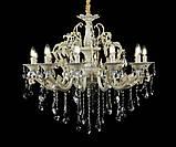 Люстра светильник в классическом стиле с хрустальными подвесками Splendid-Ray 30-3343-02, фото 2