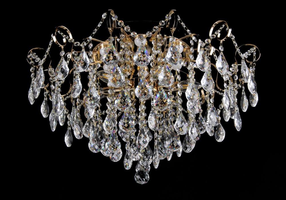 Люстра светильник хрустальный в классическом стиле для зала гостинной спальни Splendid-Ray 30-3454-43