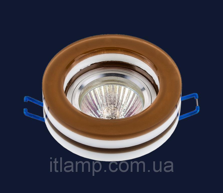 Точечные светильники врезные со стеклом Levistella 705909