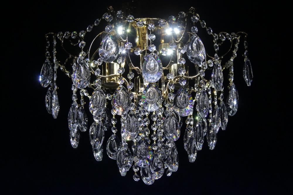 Люстра светильник хрустальный в классическом стиле для зала гостинной спальни Splendid-Ray 30-3263-32