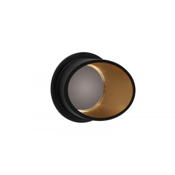 Точечные светильники врезные Linisoln 160A-BK-GD