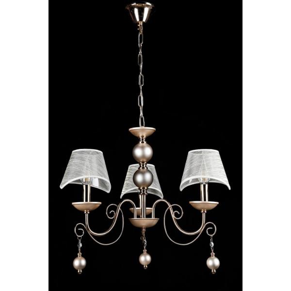 Люстра светильник классическая с хрустальными подвесками Splendid-Ray 30-3678-78