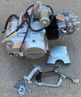 Двигатель 110сс  Вайпер Актив  полуавтомат