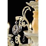 Люстра светильник в классическом стиле с хрустальными подвесками Splendid-Ray 30-3304-45, фото 3