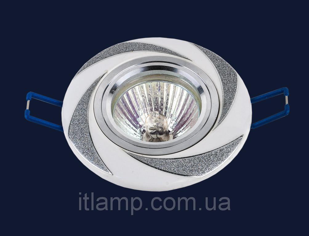 Точечные светильники врезные со стеклом Levistella 70596 CR