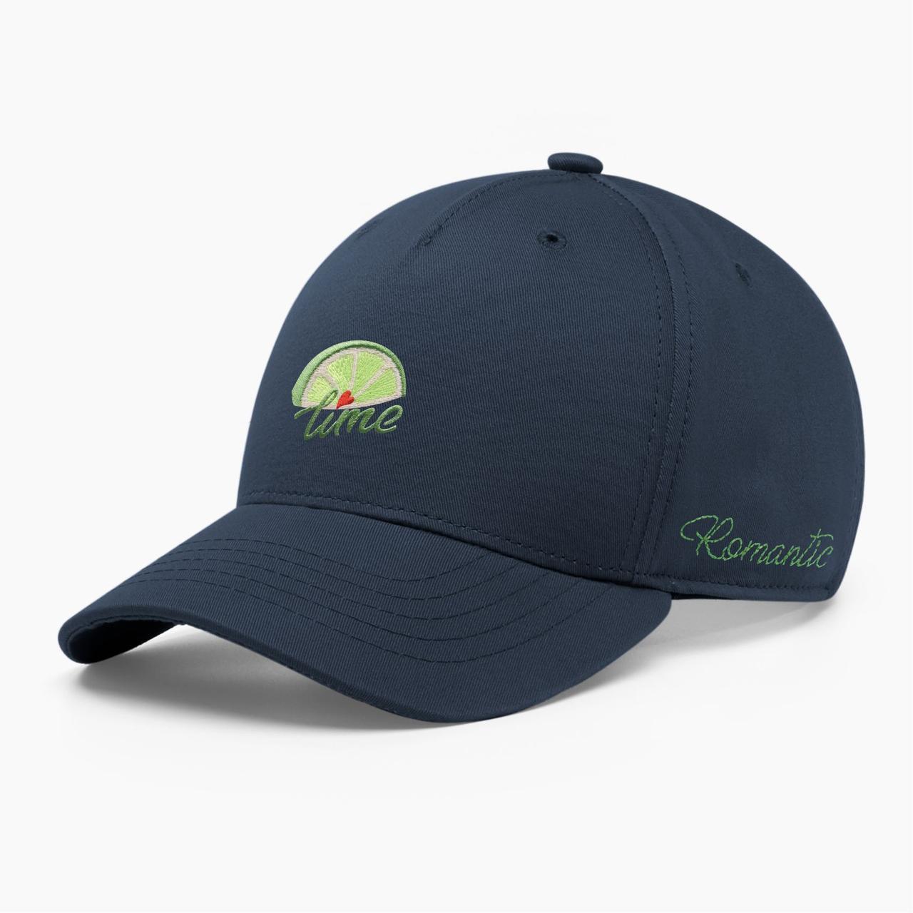 Женская кепка бейсболка INAL лайм S / 53-54 RU Синий 285353